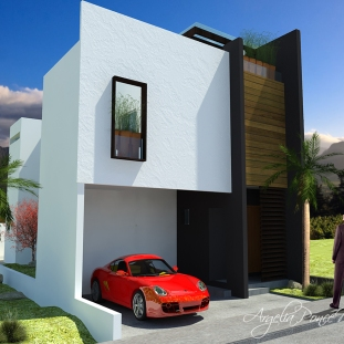 3D Casa Habitación Pitahayas